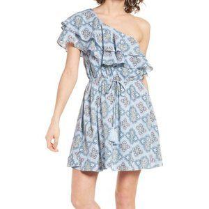 Moon River One-Shoulder Dress
